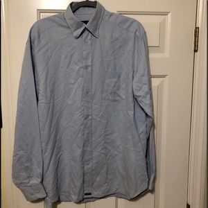 Ted Baker blue dress shirt 3 US M